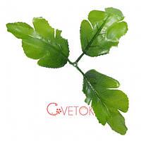 Листья искусственные дуба атлас L - 4  / весовой