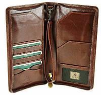 Кошелек для путешествий (тревелер) Visconti MZ101 Wing (brown)