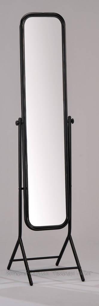 Зеркало напольное W-76 черное