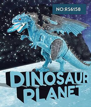 Динозавр RS6158 на радиоуправлении. Ходит. Звук. Светятся глаза, фото 2