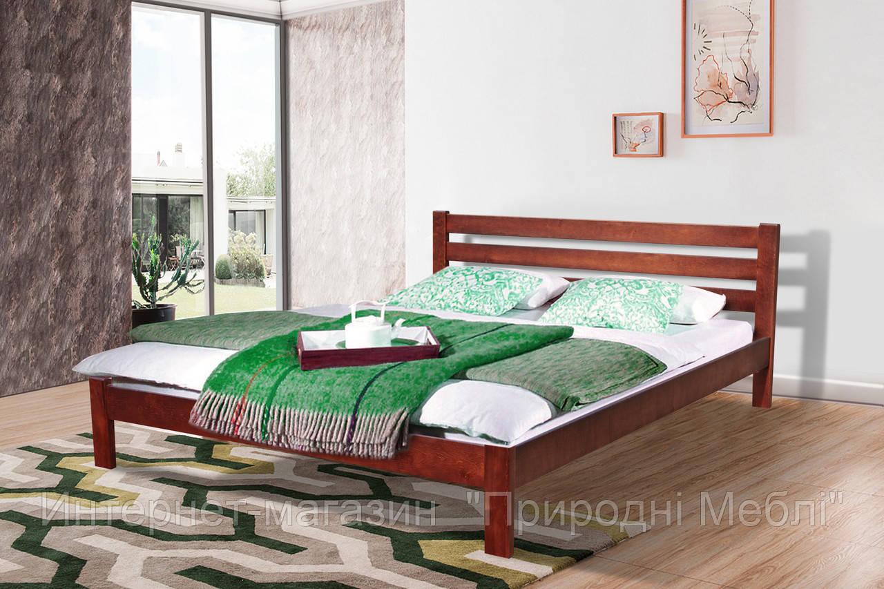 Кровать Инсайд 1,6м ольха каштан