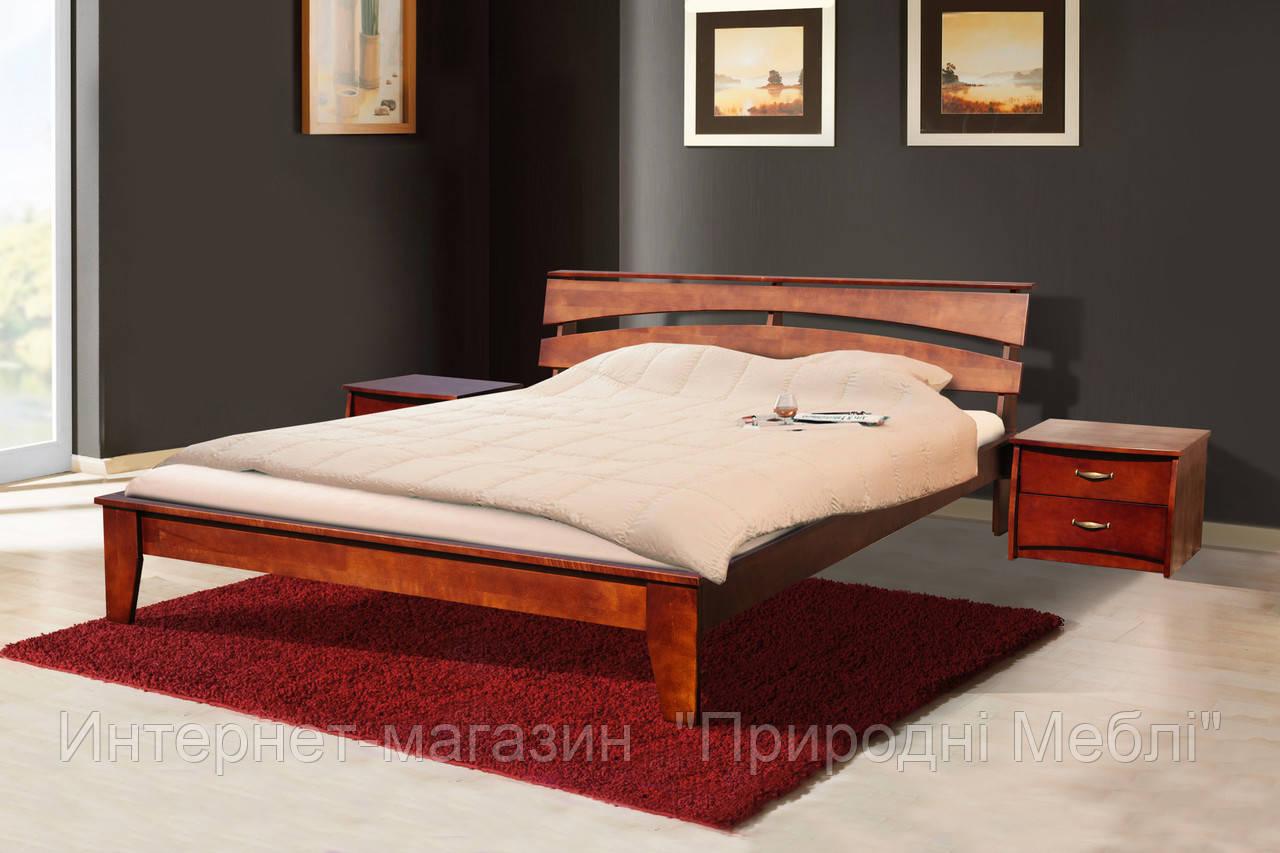 Кровать деревянная Торонто 1,6м ольха