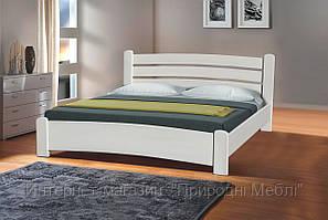Кровать двуспальная София 1,6м ольха белая