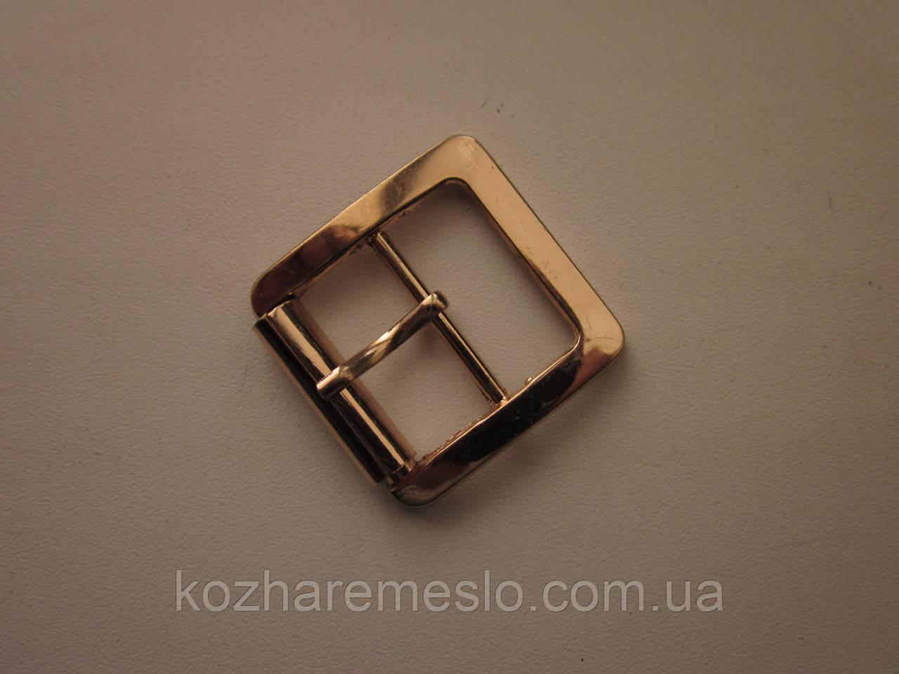 Пряжка для сумки 25 мм золото Б\У