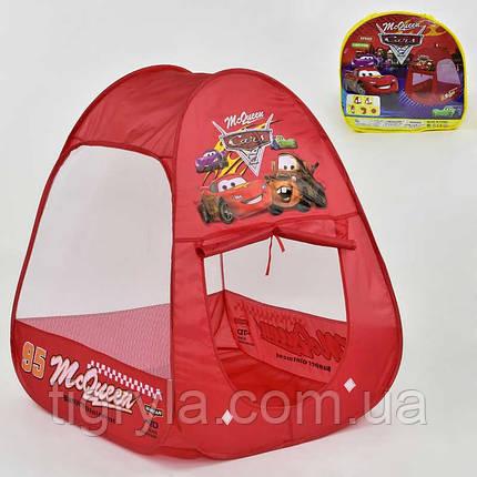 Детская палатка Тачки домик Тачки Макквин игровая палатка Тачки, фото 2