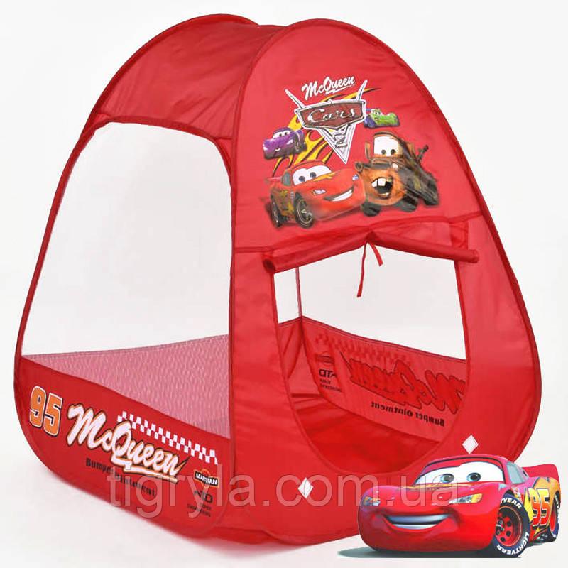 Детская палатка Тачки домик Тачки Макквин игровая палатка Тачки