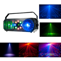 Світлодіодний комбо 4 в 1 прилад PARTY COMBO