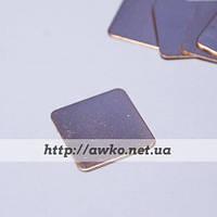 Медная пластина, термопрокладка 15х15х0.5