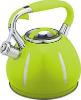 Чайник индукционный со свистком 3 л. (разные цвета) Kamille