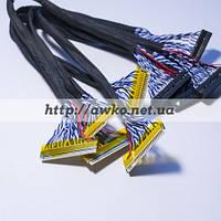 FIX-30P-D8 универсальный LVDS кабель 30pin 2Ch 8bit