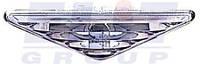 Повторитель поворота левый+правый - комплект DESIGN хром - серое исполнение, без патрона. DEPO PERF Форд Фокус FORD FOCUS 11.98-11.04 431-1404PXB-VC