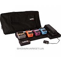 GATOR Компактный педалборд с сумкой и сетевым адаптером от Gator GATOR G-BONE