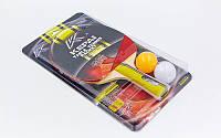 Набор для настольного тенниса 1 ракетка, 2 мяча KEPAI