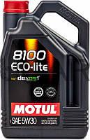 Motul 8100 ECO-lite SAE 5W-30 синтетическое моторное масло, 4 л (839554)