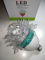 Диско лампа Цветок LED светодиодная (E27)
