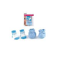 Обувь и носки для куклы Peterkin синий
