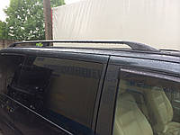 Mercedes Vito W638 Черные рейлинги с металлическим кронштейном