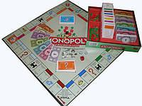Монополия настольная игра(оловянные фишки, супер качество!)