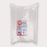 Комплект прозрачных клеевых стержней 7.4мм*200мм, уп. 1кг INTERTOOL RT-1036 Код:424774819