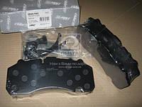 Колодка тормоз диск. (комплект на ось) BPW SB 4345 (RIDER) RD 29167PRO
