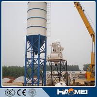 Стационарный бетонный завод HZS35, 35м3/ч