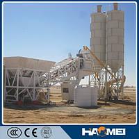 Мобильный бетонный завод YHZS75, 75м3/ч, низкая цена
