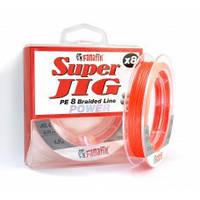 Шнур плетеный Fanatik Super Jig PE X8 120m  0.16