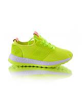 Желтые женские кроссовки обувь для женщин красивые