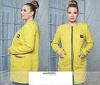 Пальто батал мод 035(41) Код:472239041