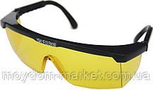 Окуляри захисні жовті C0001 YSA1 CE EN166 10/200 шт/уп. / Corona protect