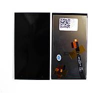 Дисплей (LCD) HTC Desire 601e M4 с сенсором черный orig
