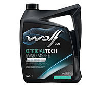 Масло Wolf Officialtech 5W-20 MS-FE 4л синтетичне 8320187