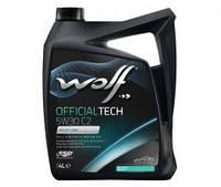 Масло Wolf Officialtech 5W-30 C2 4л синтетическое  8309014