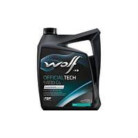 Масло Wolf Officialtech 5W-30 C4 4л синтетическое  8308413