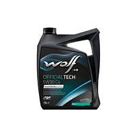 Масло Wolf Officialtech 5W-30 C4 5л синтетическое  8308512