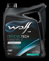 Масло Wolf Officialtech 5W-30 MS-F 5л синтетическое  8308819
