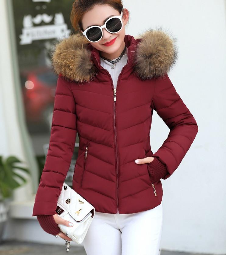 e7b9175f34c Женская куртка меховой воротник (осень-весна) - V-grupe - Интернет-