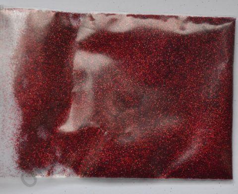 Зеркальная пыль (глиттер, втирка) для дизайна ногтей «Красный» №12 (3 грамма)