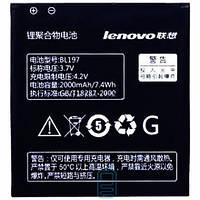Аккумулятор Lenovo BL197 2000 mAh для S899T, S720, A800, A798T AAAA/Original тех.пакет Код:19350
