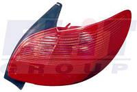 Фонарь задний правый без патрона Пежо 206 PEUGEOT 206 9.98- 550-1921R-UE