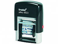 Штемпели-датеры Trodat 4822 Датер пласт с 12 бухг терминами Код:401623687
