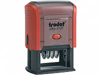 Штемпели-датеры Trodat 4727N Датер пласт со свободн полем 60х40 мм Код:401624542