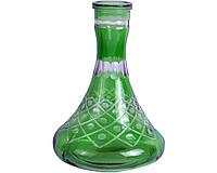 Колба для кальяна элитная (зеленая) №4 Код:494919756
