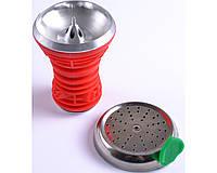 Чаша для кальяна (красная) А-29 Код:495561430