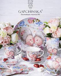 Посуда с репродукциями Гапчинской