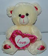 """Мягкая игрушка Медведь с сердцем """"Love"""" SP51503 Код:526146682"""