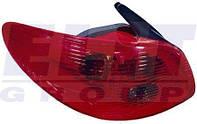 Фонарь задний левый без патрона Пежо 206 PEUGEOT 206 9.98- 550-1931L-UE