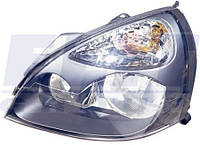 Фара передняя левая H7 H1, автом. регул. type Hella 7 01- DEPO Рено Клио RENAULT CLIO 9.98-5.05 551-1138L-LD-EM