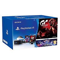 Очки виртуальной реальности PlayStation VR + PS Camera + Gran Turismo Sport + VR Worlds