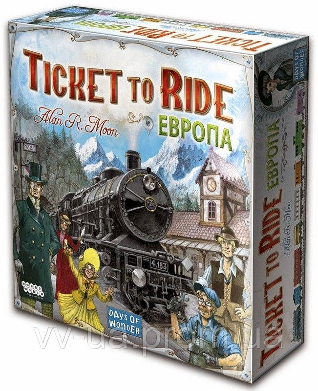 Игра настольная Hobby World Ticket to Ride: Европа (1032)